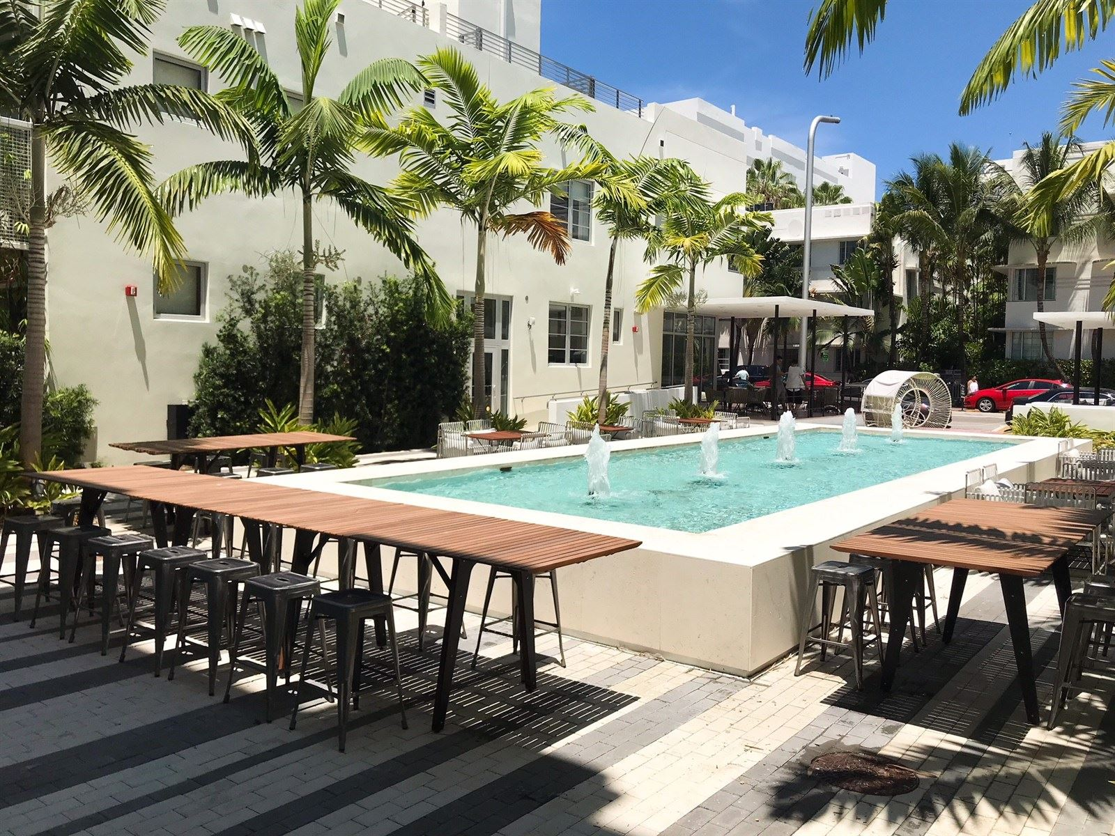 Image Slide2 Link To Larger Outdoor Patio At Fairwind Hotel Miami